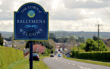 Ballymena, Welcome to Ballymena, County Antrim © Albert Bridge